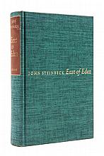 STEINBECK, JOHN. East of Eden. New York, 1952. First edition, limited, signed.