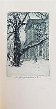 (KASIMIR, LUIGI) ANDERSEN, HANS CHRISTIAN. Reiseblatter au Osterreich. Vienna/Leipzig, 1919. Limited, signed by Kasimir.
