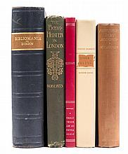 (BOOKS ON BOOKS) A group of 25 books about books and book collecting.