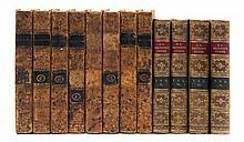 * (BINDINGS) [ADDISON, JOSEPH] The Spectator. London. 8 vols. W/ Poetical Works. By Elizabeth B. Browning. London, 1883. 4 (of 5) vols.