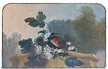 Artist Unknown, (19th Century), Still Life with Fruit and Flowers