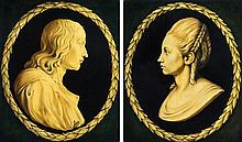 Artist Unknown, (Italian, 19th Century), A Pair of Cameos