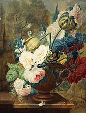Artist Unknown, (19th/20th Century), Still Life With Peonies and Tulips