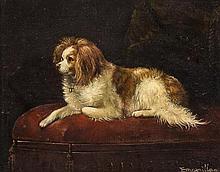 Artist Unknown, (British, 19th/20th Century), Cavalier Spaniel
