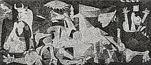 Robert Silvers, (American, b. 1968), Spanish Civil War-Guernica