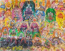 Alex O'Neal, (American, b. 1957), Untitled