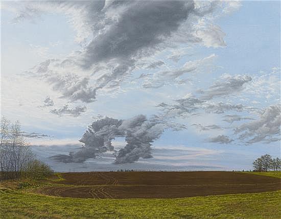 George Atkinson, (American, b. 1949), East of Atlanta, 1988