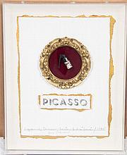 Barton Lidice Benes, (American, 1942-2012), 1 Gram of Picasso, 1985