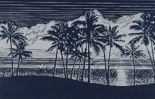 McRay Magleby, 20th century, Palms and Sea Breezes