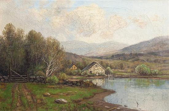 * Daniel Folger Bigelow, (American, 1823-1910), Valley Farm