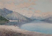 George Elbert Burr, (American, 1859-1939), Menaggio Como