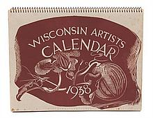Various Artists, (Wisconsin, 20th century), Wisconsin Artists Calendar, 1938