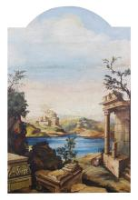 Artist Unknown, (Italian School, Late 18th/Early 19th century), Architectural Landscape View