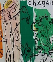 Marc Chagall, (French/Russian, 1887-1985), Cover, from Chagall by Jacques Lassaigne, 1957