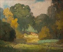 John William Orth, (American, 1889-1976), Landscape