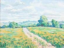Martin Gipson, (American, 20th century), Landscape