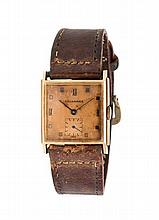 A Collection of Vintage 14 Karat Gold Wristwatches,