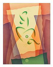 Raymond Jonson, (American, 1891-1982), Watercolor No. 5, 1940