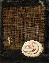 * Brenda Goodman, (American, b. 1943), Untitled (Coiled Snake), 1977