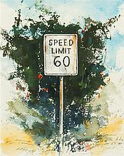 Stephen Scott Young, (American, b. 1957), Speed Limit, 2000