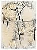 Andre Kertesz, (American/Hungarian, 1894-1985), Washington Square Park, 1954