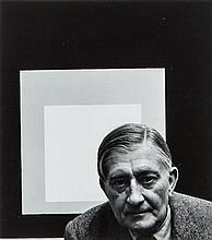 Arnold Newman, (American, 1918-2006), Josef Albers, 1952