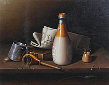 Javier Mulio, (Spanish, b. 1957), The Gentleman's Still Life