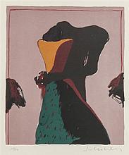 Fritz Scholder, (American, 1937-2005), Dream C