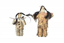Two Plains Style Male Dolls