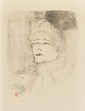 Henri de Toulouse-Lautrec, (French, 1864-1901), Portrait de Jeanne Granier