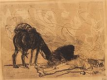 Jean Louis Forain, (French, 1852-1931), Untitled
