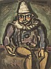 Georges Rouault, (French, 1871-1958), Vieux clown (from Cirque), 1930, Georges Rouault, $0