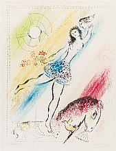Marc Chagall, (French/Russian 1887, 1983), Circus Girl Rider, 1964