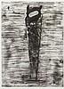 * Jim Dine, (American, b. 1935), Saw, 1976, Jim Dine, $0