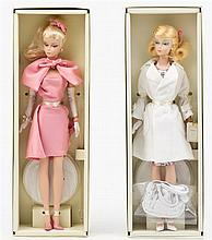 * Two Gold Label Silkstone Fashion Model Collection Barbies