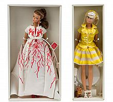 * Two Silkstone Fashion Model Collection Barbies