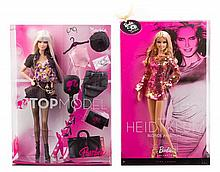 * Five Top Model Themed Barbies