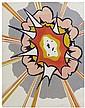 Roy Lichtenstein, (American, 1923-1997), Explosion, 1967