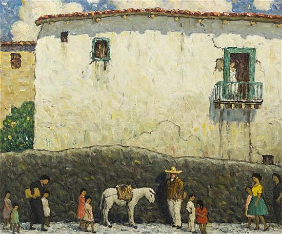 Will Howe Foote, (American, 1874-1965), Any Day in Mexico