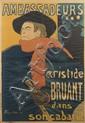 * Henri de Toulouse-Lautrec, (French, 1864-1901), Ambassadeurs, Aristide Bruant, 1892