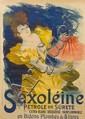 Jules Cheret, (French, 1836-1932), Saxoleine