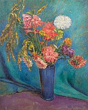 * Alexander Warshawsky, (American, 1887-1945), Floral Still Life