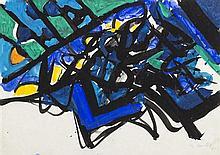 * Edo Murtic, (Croatian, 1921-2004), Untitled, 1971