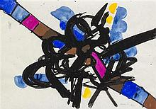 * Edo Murtic, (Croatian, 1921-2004), Untitled, 1972