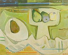 Francisco Bores, (Spanish, 1898-1972), Nature Morte aux Poires, 1957