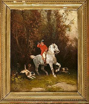 Hans Johann HAAG (1841-1919), Viennese painter,