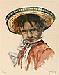 Roger Hebbelinck (1912), colored aquatint,, Roger Hebbelinck, Click for value