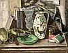 Kurt Haase-Jastrow (1885-1958), Stillleben, wohl in den 1920er Jahren entstandenes Werk des Künstlers, Haase-Jastrow studierte ab 1903 in Berlin, seit 1906 an der Dresdener Akademie bei Zwintscher. Seit 1913 beschickte er u.a. die Großen Berliner, Kurt Haase-Jastrow, €2,000