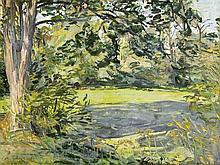 Johannes Hänsch (1875-1945), Berliner Landschaftsmaler, studierte an der dortigen Akademie und war Schüler der Meisterklasse für Landschaftsmalerei der Akademie der Künste Berlin, über drei Jahrzehnte Mitglied im 'Verein Berliner Künstler',
