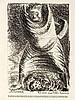 Ernst Barlach (1870-1938), Konvolut von zwei Lithographien, 'Lügt Stürme, lügt', aus Kriegszeit, verso Lithographie von August Gaul, auf sandfarbenem Papier, sowie Litho. 'Aus einem neuzeitlichen Totentanz', verso 'Symbole der Zeit VII' von Max, Ernst Barlach, €100